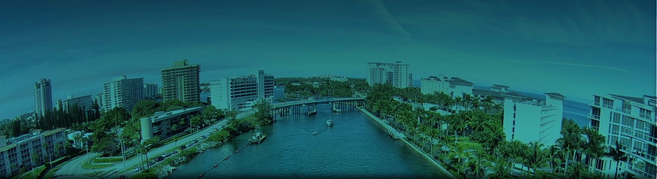 AAS background, Miami waterway