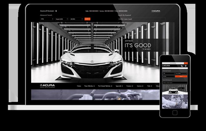 Acura screens