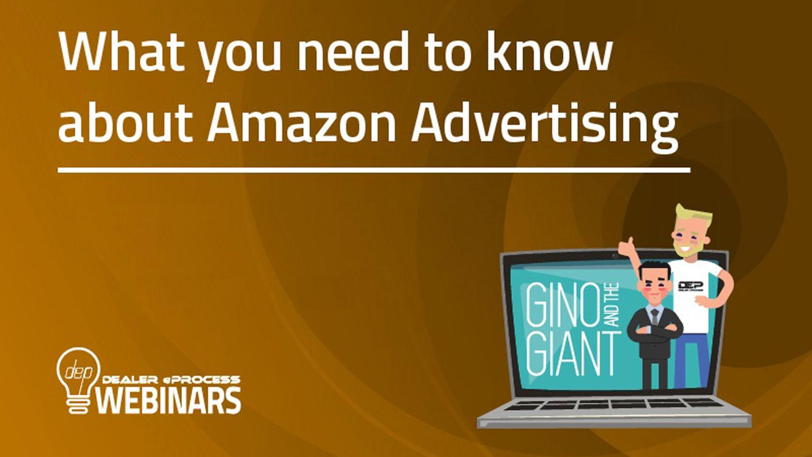 Amazon Advertising webinar image