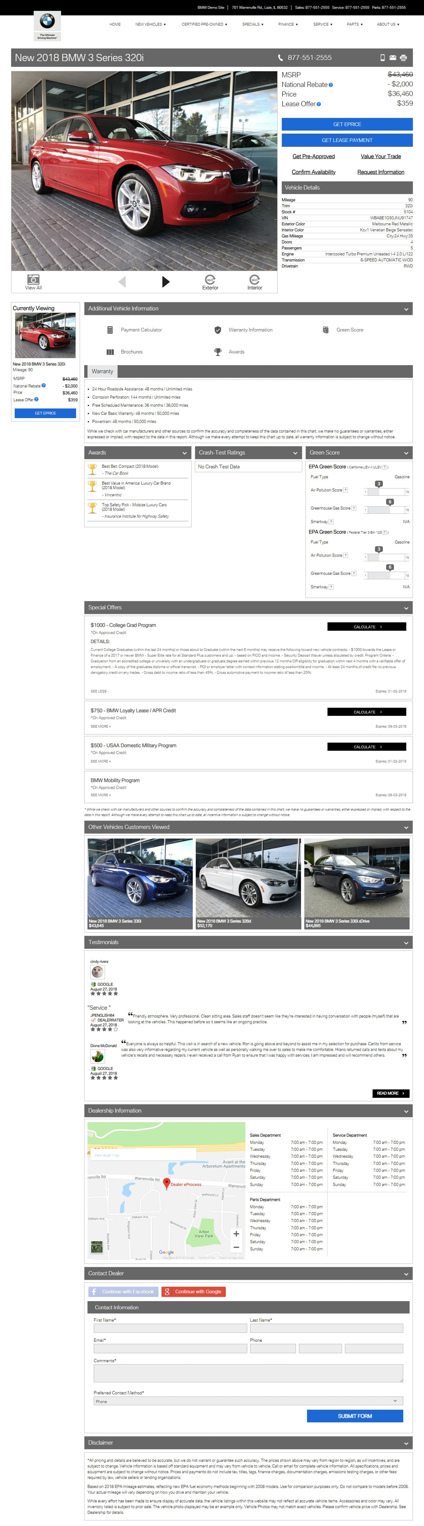 BMW VDP full page image