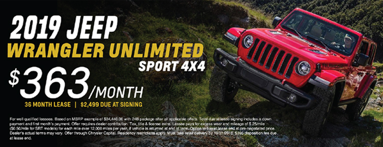 Jeep Wrangler banner ad