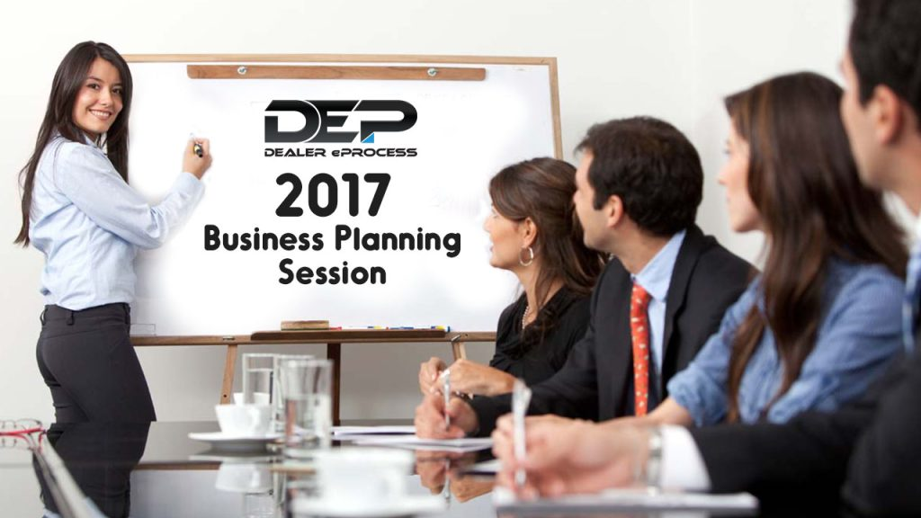 Dealer eProcess 12 Days of Giveaways, Day 5: Business Planning Strategy Meeting