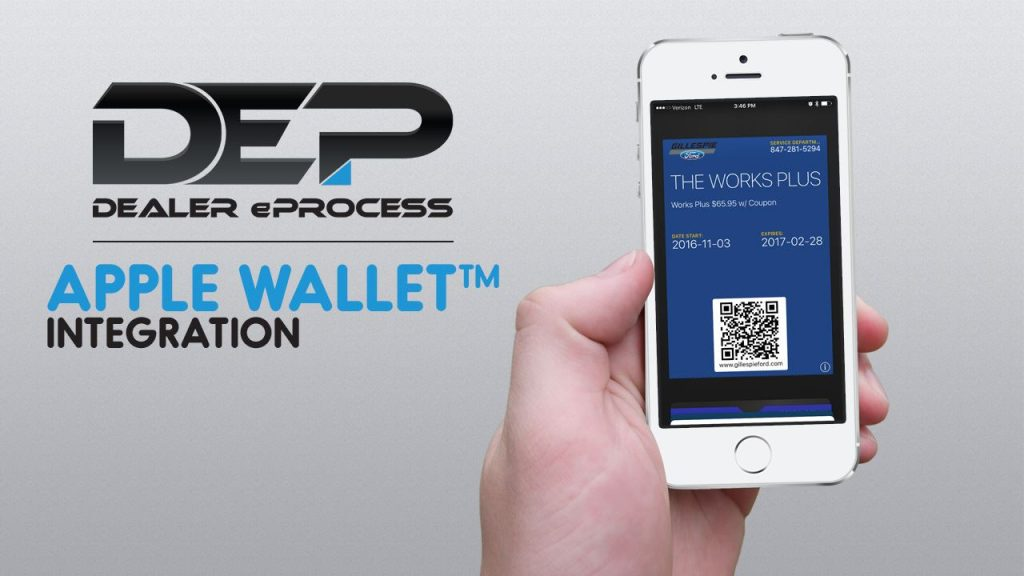 Dealer eProcess 12 Days of Giveaways, Day 12: Apple Wallet