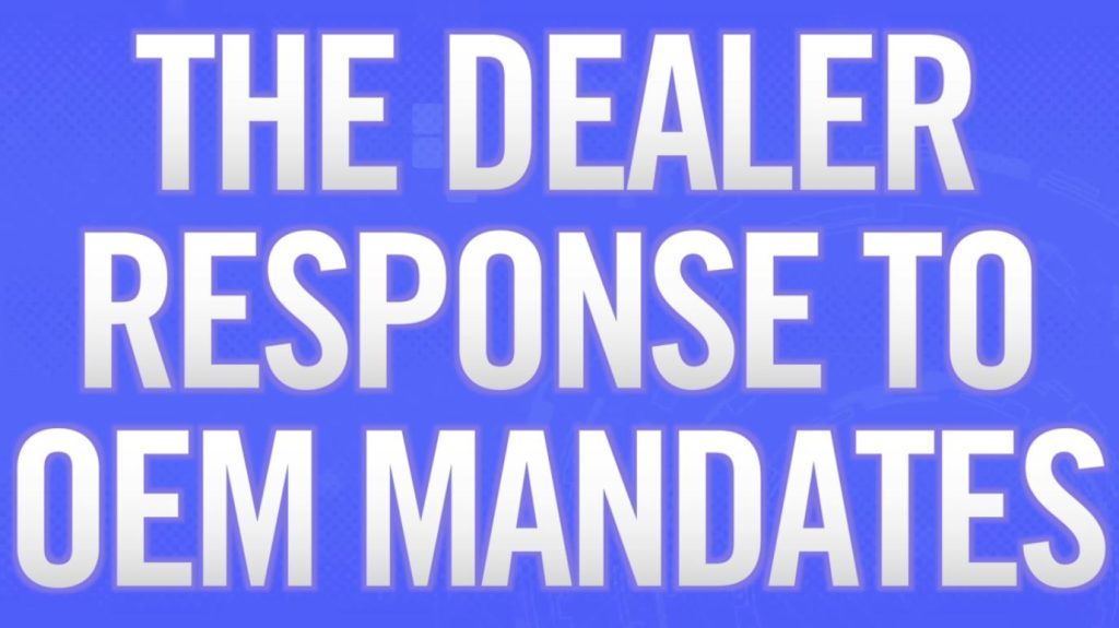 Automotive Marketing Facts: The Dealer Response to OEM Mandates
