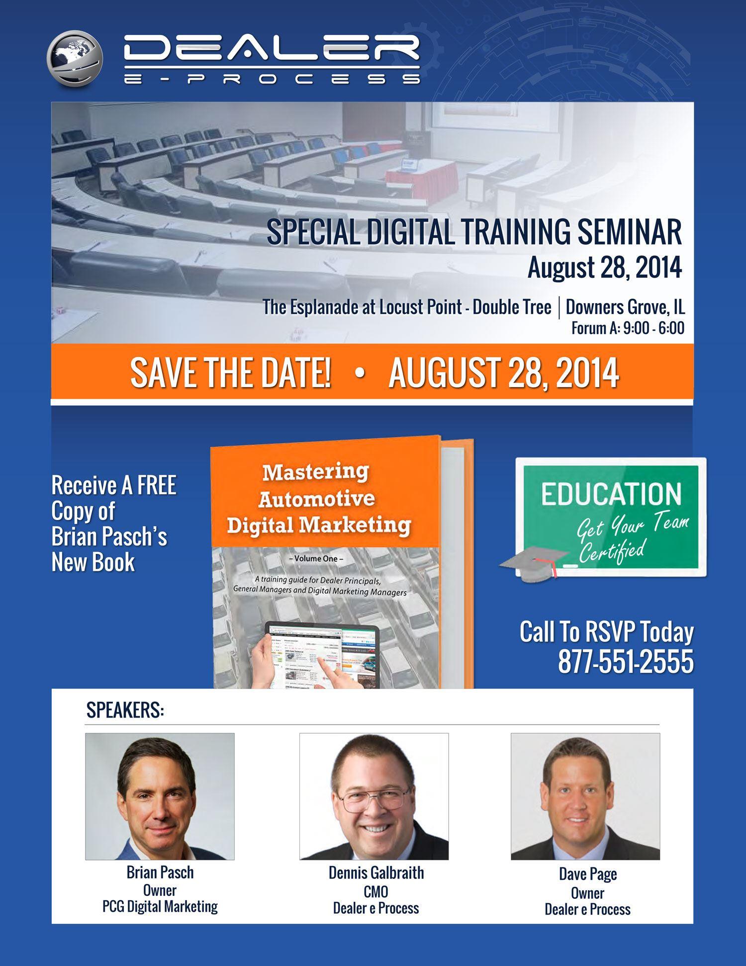 Special Digital Training Seminar page 1