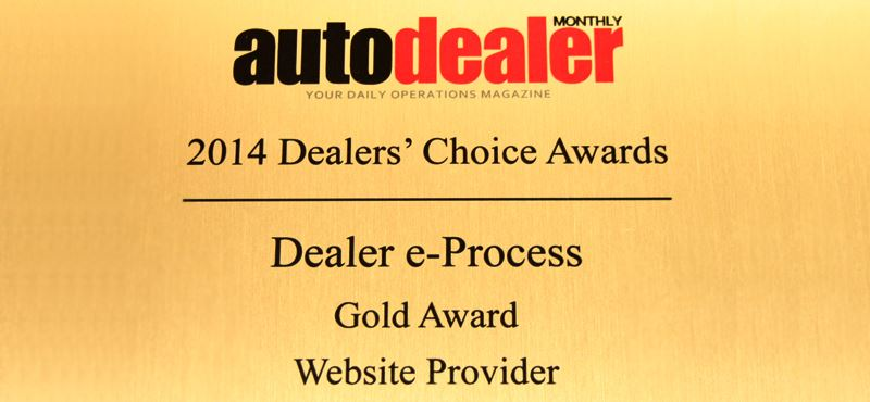 AutoDealer Dealers' Choice award