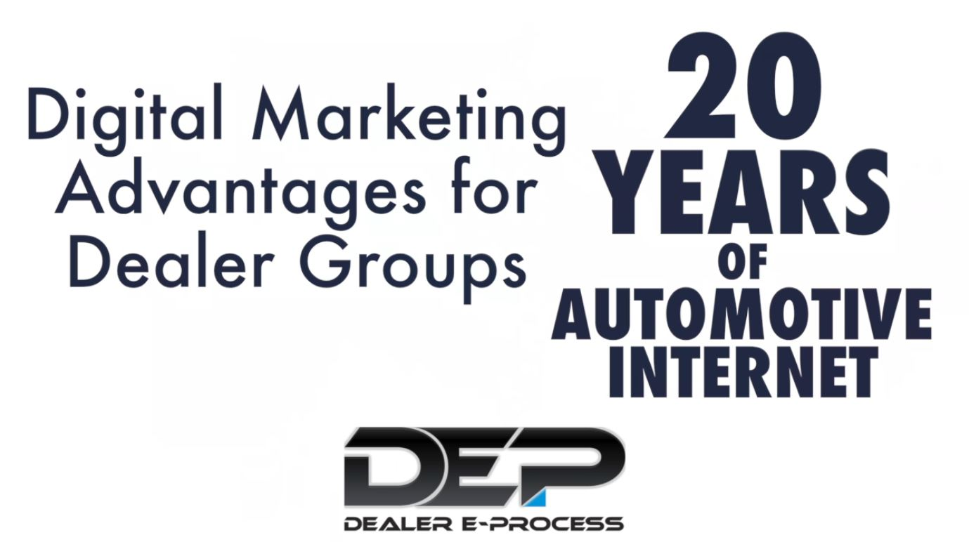 Digital Marketing Advantages for Dealer Groups