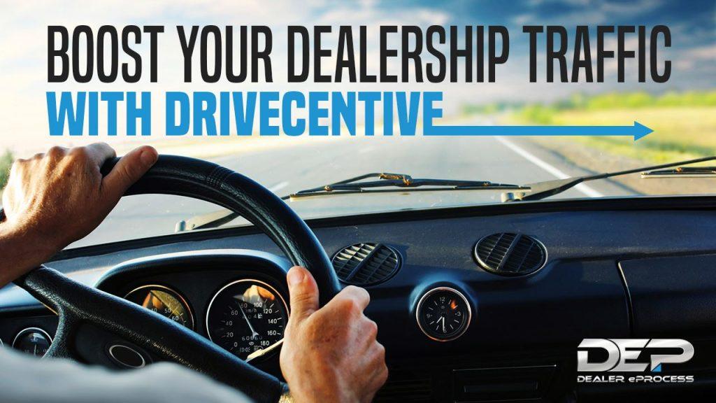 DriveCentive Test Drive Incentive