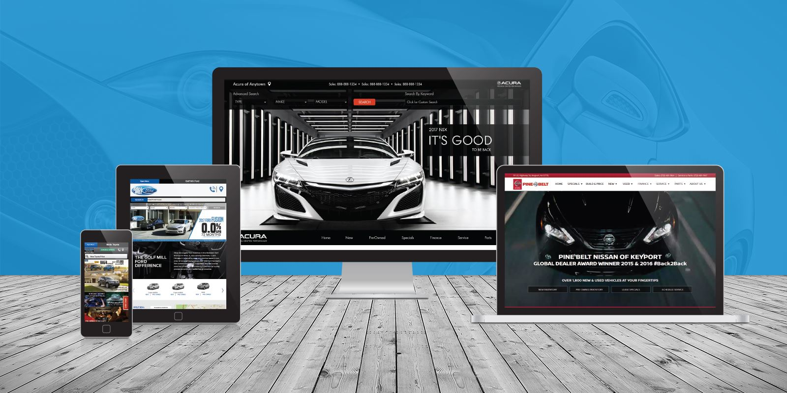 Dealer eProcess Automotive Website Award Winner