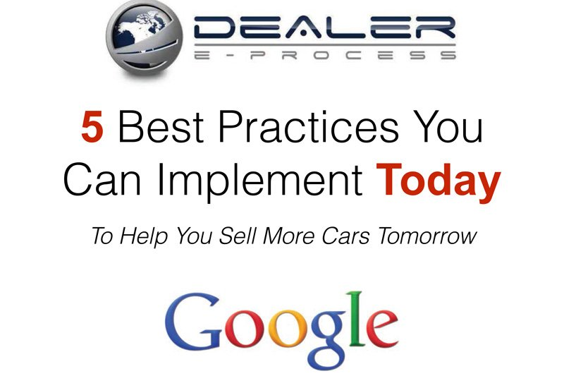 Five Best Practices You Can Implement Today