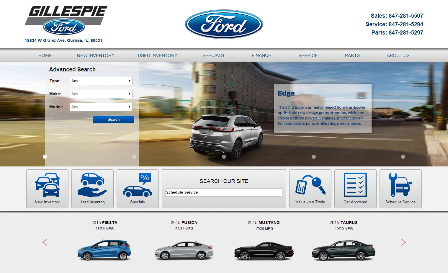 Gillespie Ford preview