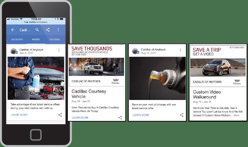 Google Posts display ads