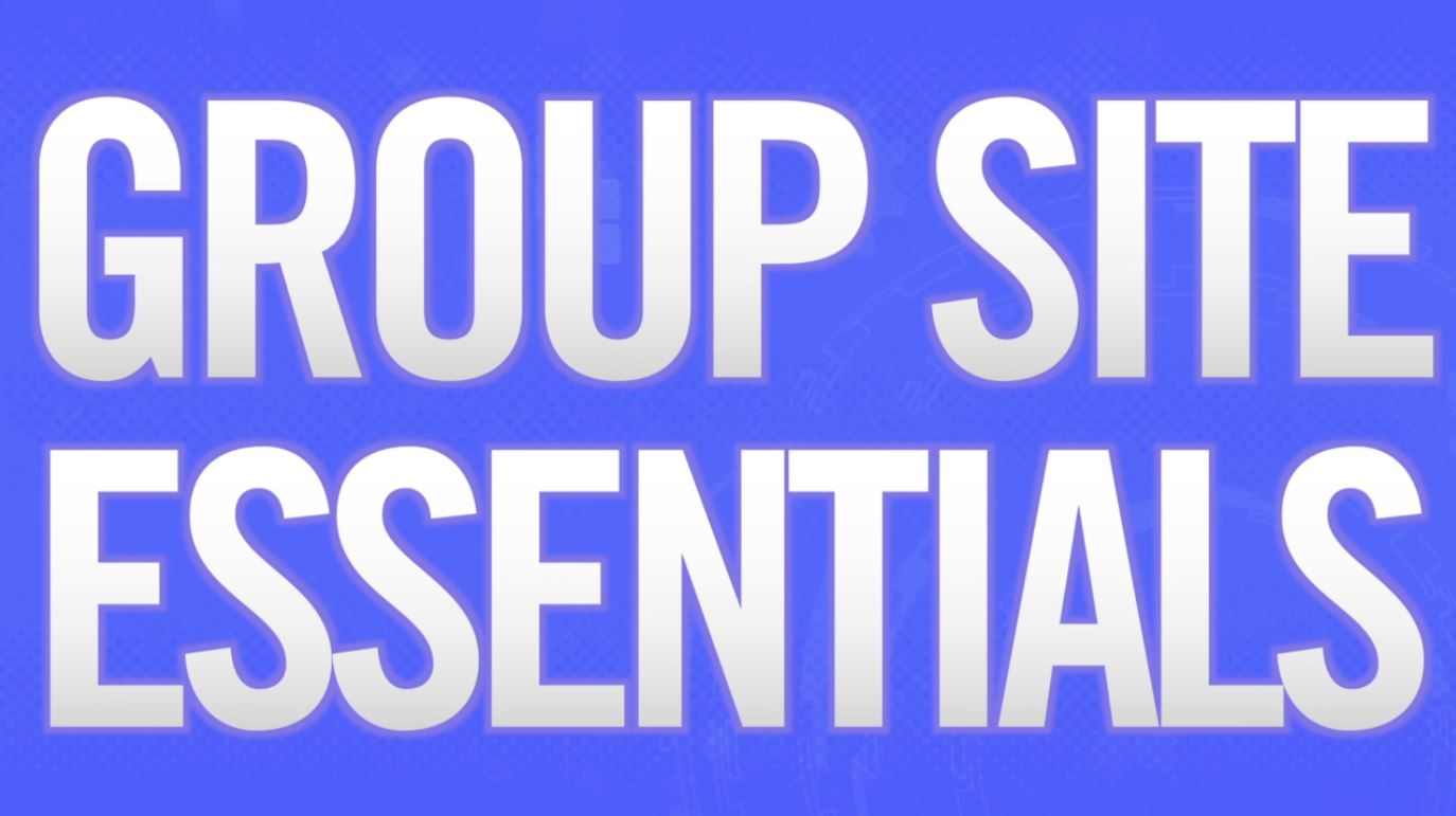 Group Site Essentials preview