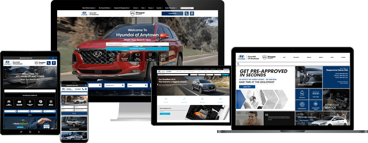 Hyundai Certified Website And Digital Retailing Provider