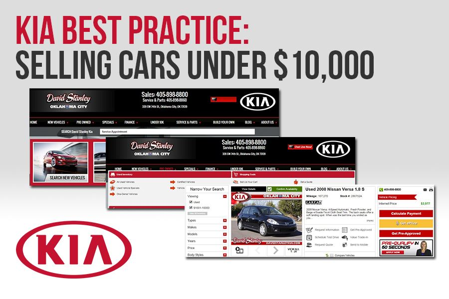 Kia Under 10K tab preview