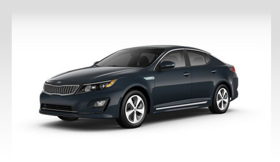 Kia Optima hybrid preview