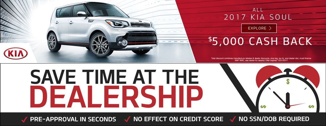 Kia website banners