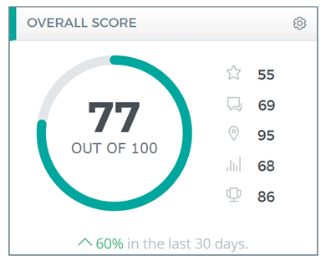 local brand visibility score