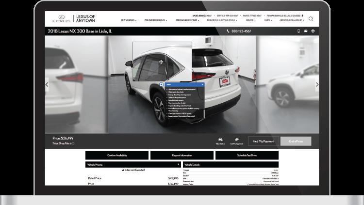 Lexus Certified Website Provider - Dealer eProcess