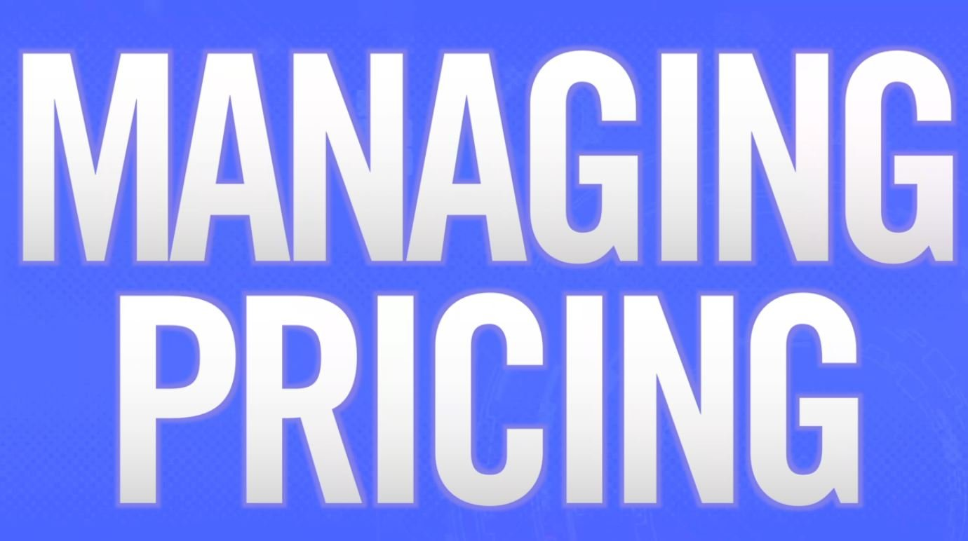 Managing Pricing preview