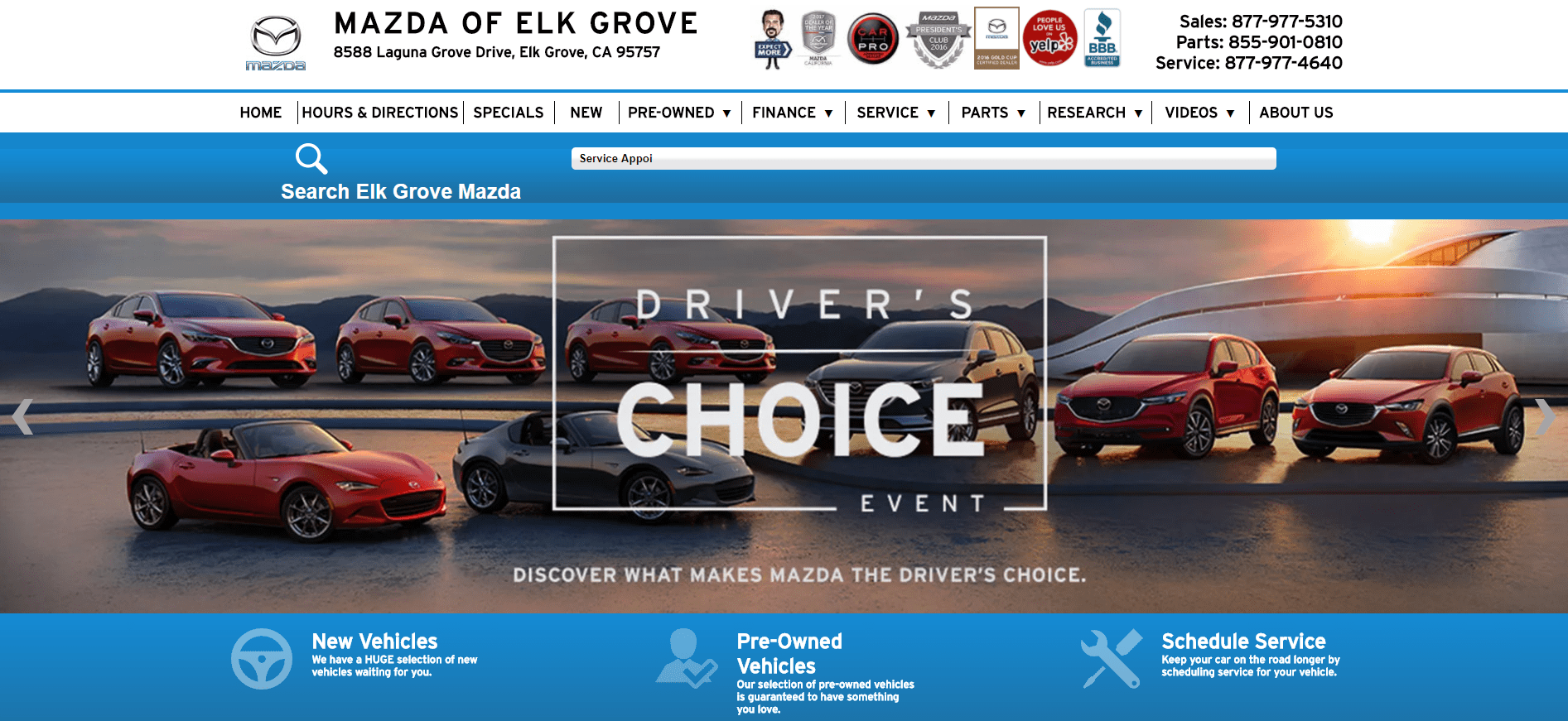 Elk Grove Mazda >> Mazda Names Dealer eProcess a Certified Provider for Websites and Digital Advertising - Dealer ...