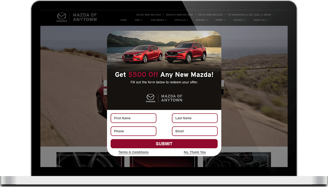 Mazda DriveCentive screen