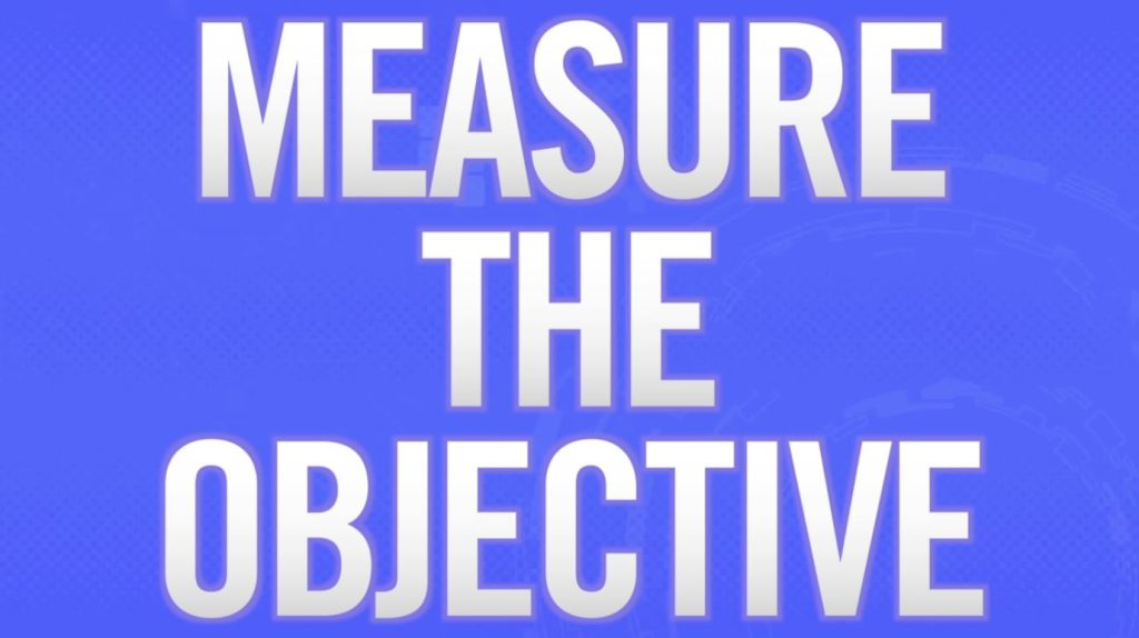Measure the Objective preview