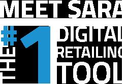 text image: Meet SARA The #1 Digital Retailing Tool