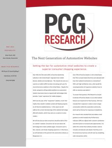 PCG Research report preview