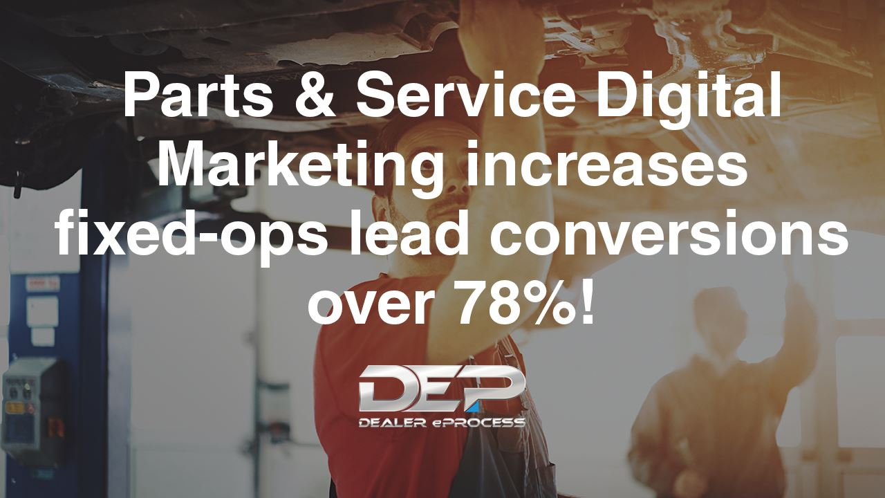 Parts and Service Digital Marketing Case Study