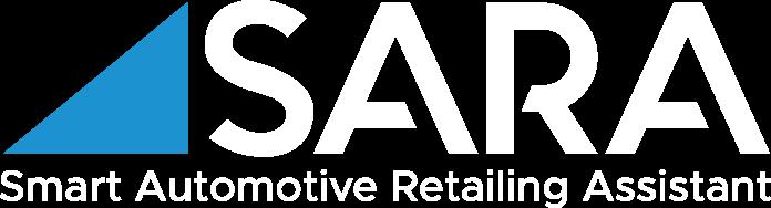 SARA logo, white