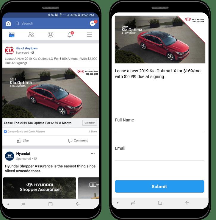 Facebook LeadGen image