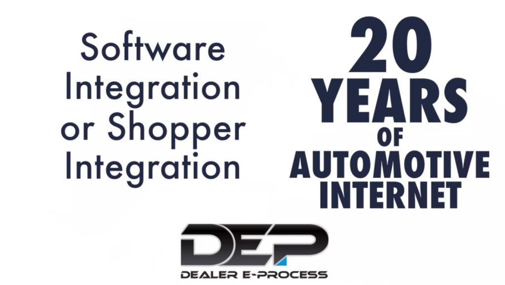 Software Integration or Shopper Integration preview