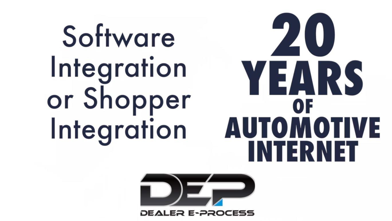 Software Integration or Shopper Integration preview