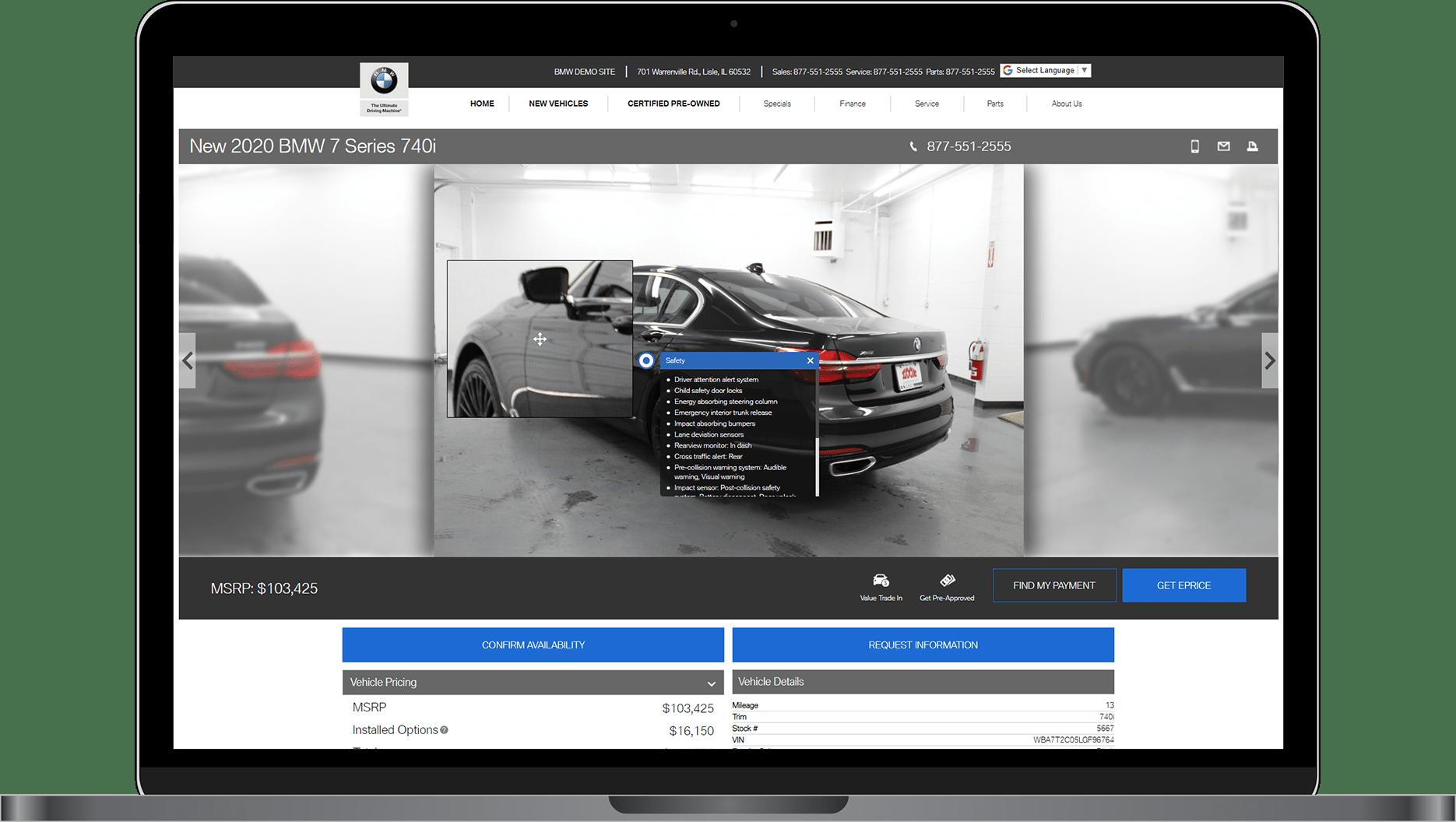 VDPxL on BMW website