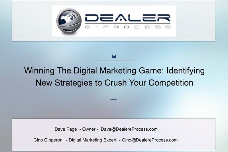 Winning the Digital Marketing Game