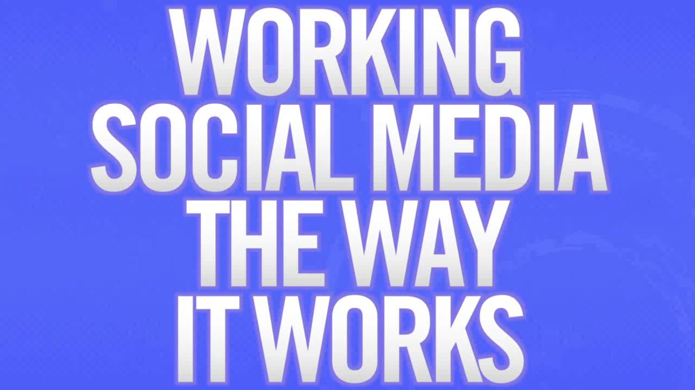 Working Social Media the Way It Works preview