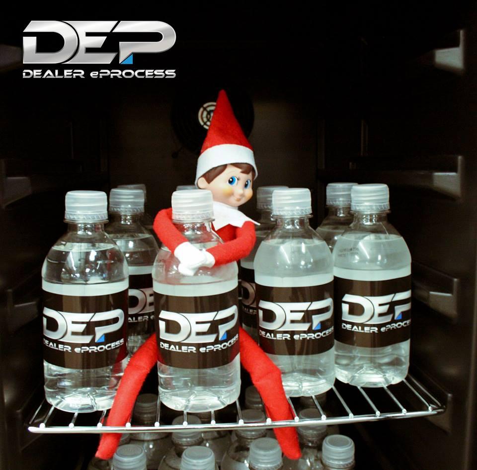 Elf on a Shelf, Day 2
