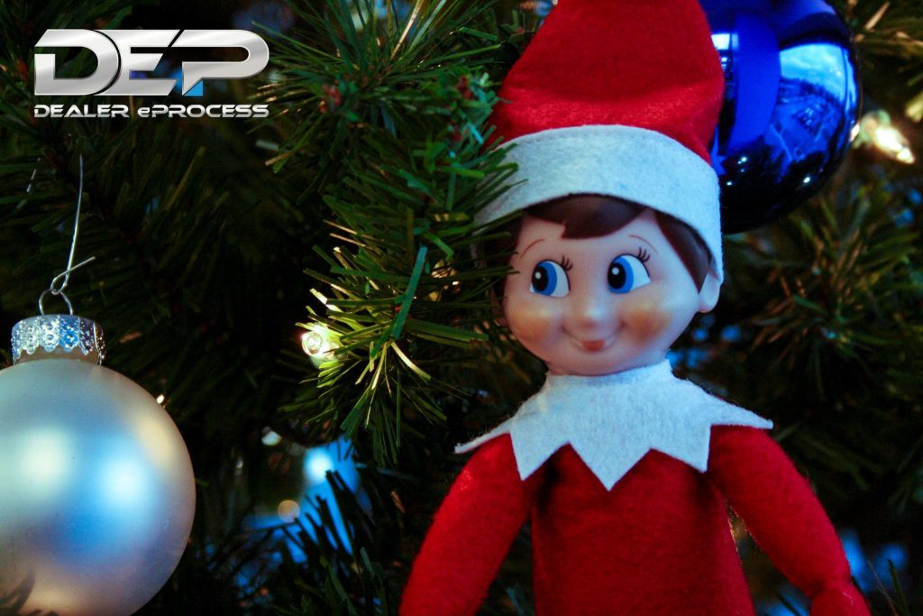 Elf on a Shelf, Day 4