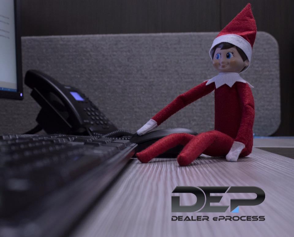 Elf on a Shelf, Day 7