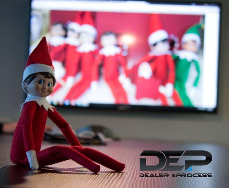 Elf on a Shelf, Day 8
