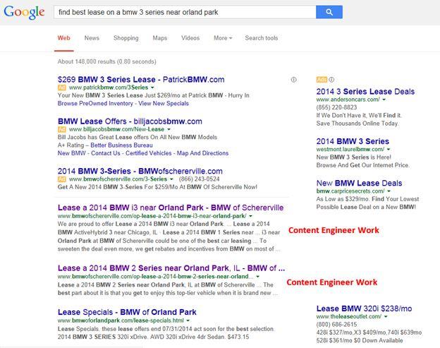 google-search-unique-content