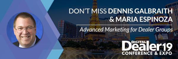 Don't Miss Dennis Galbraith & Maria Espinoza at Digital Dealer 19 Conference & Expo preview image
