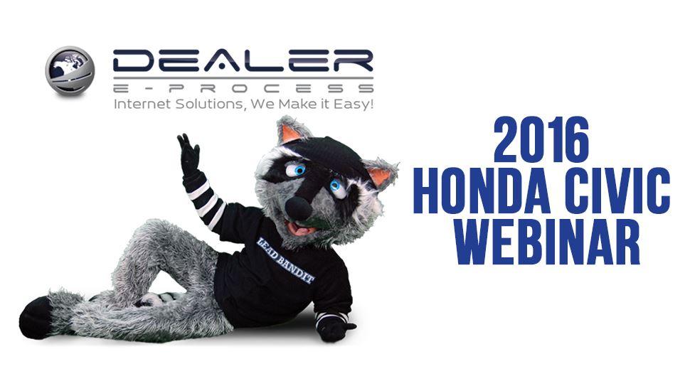 2016 Honda Civic Webinar