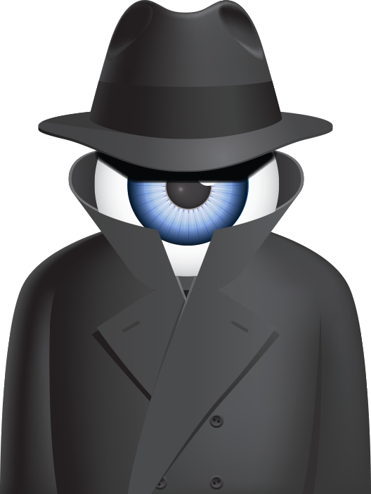 iSPY logo character