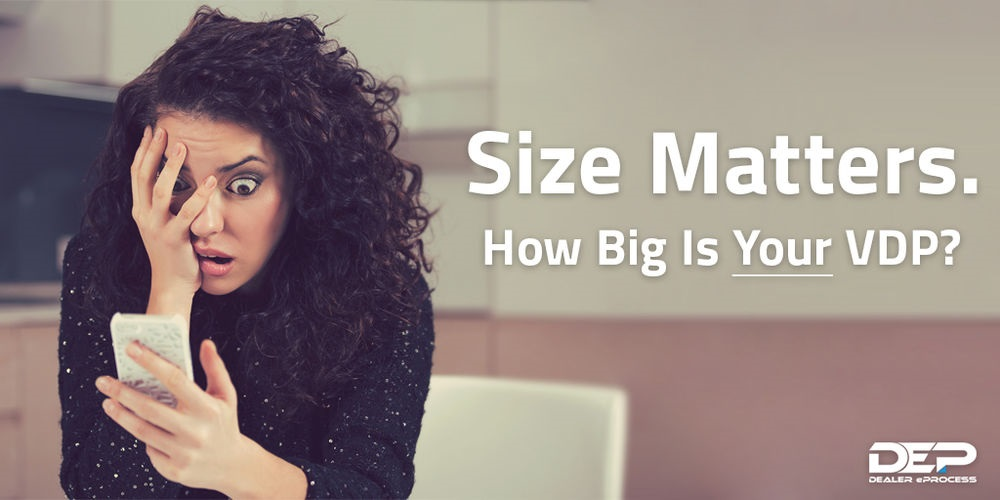 title image: Size Matters. How big is your VDP?
