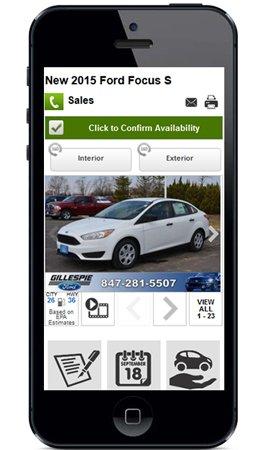 custom vdp mobile preview