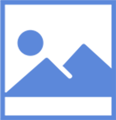 general use icon of mountains landscape with sun above