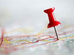 map locator pin
