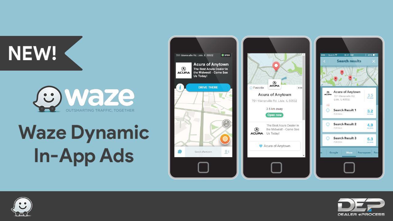 Waze Advertising - Dealer eProcess